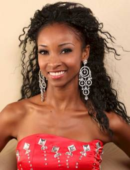 "Jheanell Lindo desde Jamaica ""Miss Jamaica Teen 2010"""