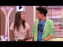 Federico y Violetta.