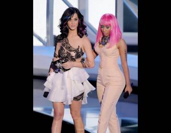 nicki minaj y katy perry