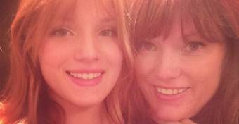 Bella Thorne y su madre