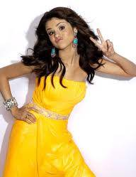 vestido color amarillo