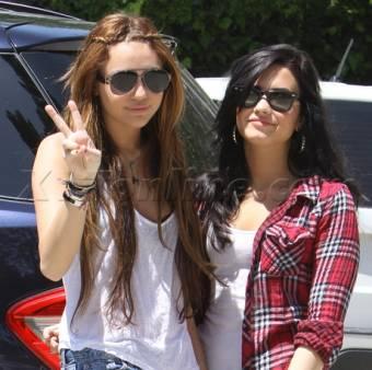 Miley & Demi