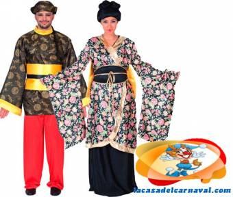 http://www.lacasadelcarnaval.com/chino-geisha.html#.UPvQvyfWj4c    PAREJA DE CHINOS