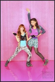 Cece y Rocky-Bella Thorne y Zendaya Coleman-A todo ritmo
