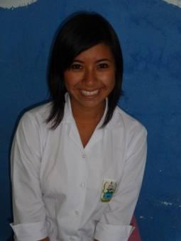 Candidata de Sexto Magisterio... Wendy Barillas