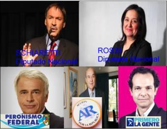 Juan Schiaretti - Blanca Rossi (Union Por Cordoba (PJ C�rdoba - Uced�)- Peronismo Federal (Alianza PJ Disidente) - Acci�n por La Rep�blica - Partido Dem�crata Cristiano - Primero La Gente - Fe - Uni�n Celeste y Blanco)