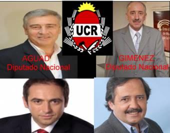 Oscar Aguad - Alberto Gimenez (Union Civica Radical)