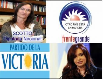 Carolina Scotto (Frente Para La Victoria (Partido Para La Victoria - Frente Grande - Partido Comunista - Partido  Intransigente - Partido Humanista - Partido Solidario - Acci�n Para El Cambio) )