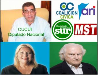 Roberto Cucui (Coalición Cívica Ari - País -Proyecto Sur - Movimiento Socialista de Los Trabajadores)