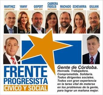 Ernesto Martinez (Frente Progresista C�vico y Social)