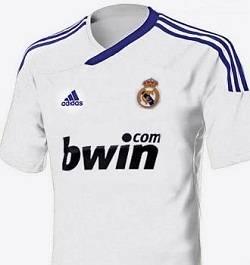 camiseta del madrid