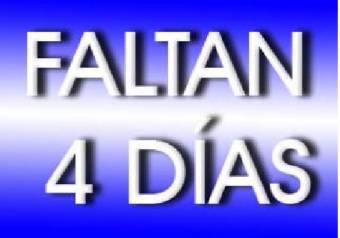 Faltan 4 Dias