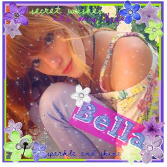 BELLA THORNE FAN(FAN)
