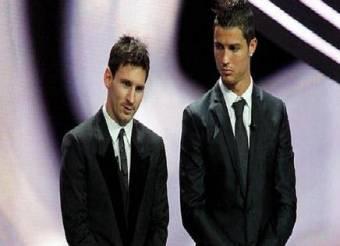 A pesar de su rivalidad en el campo de juego Lionel  Messi y cristiano Ronaldo son buenos amigos