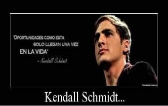 """Kendall Schmidt y su Frase Celebre """"Oportunidades como esta aparecen una sola vez en la vida"""""""