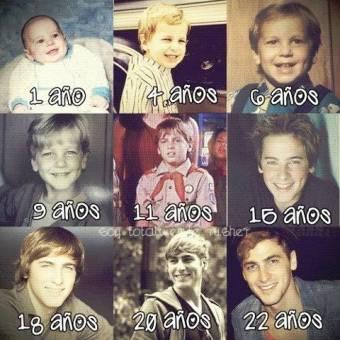 Kendall Schmidt y todas sus Etapas desde la Niñez hasta el Presente