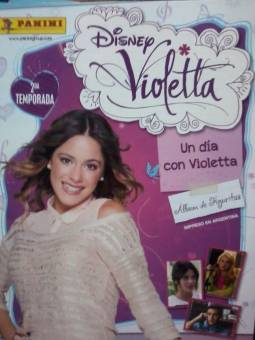 Album de violetta (LO TENGO!!!)