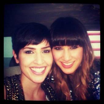Hanna y Ashley juntas