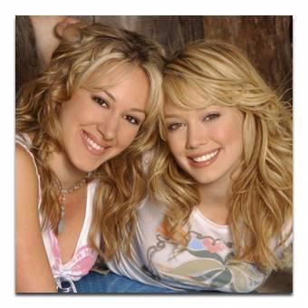 Haylie y Hilary Duff