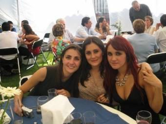 Blanca, Claudia y Dulce María