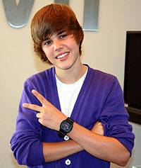 Justin Bieber ;)