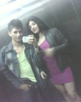 Jhonatan y su amiga