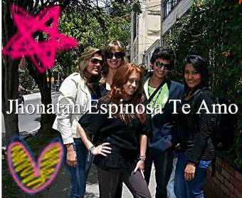 Jhonatan Espinosa y amigas