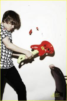 Justin Bieber(L)