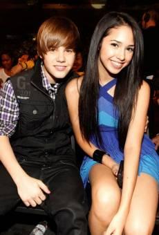 Justin Bieber with Jasmine