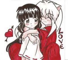 Inuyasha y Kikyo