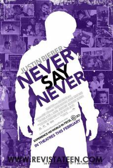 never say never - justin bieber