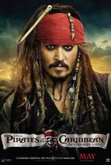 piratas de caribe: navegando en agua misteriosas
