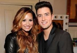 Logan y Demi Lovato