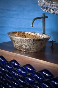 Lavamanos en el Palafito La Sirena - Sink in La Sirena