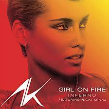GIRL ON FIRE-ALICIA KEYS FT. NICKI MINAJ