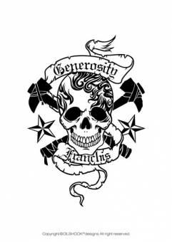 Calavera 3 Diseñada por un ilustrador muy reconocido en el mundo de las skull