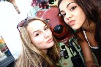 Bridgit y Samantha