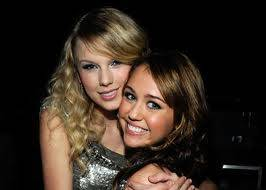 miley cyrus y taylor swift