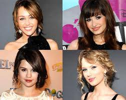 selena gomez, demi lovato,miley y taylor swift