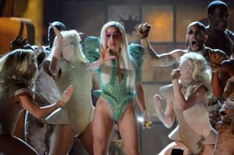 Poker Face en los Grammy 2010