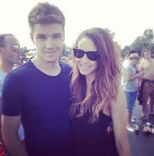 Liam Payne y Danielle Peazer