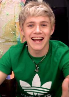 la divertida sonrisa de niall