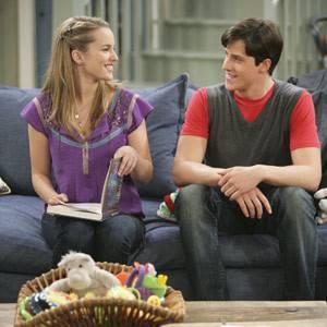 teddy y Spencer (buena suerte charlie)
