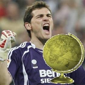 Mejor Portero de Futbol del A�o-(Iker Casillas)