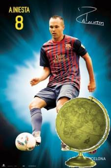 Mejor Mediocampista de Futbol del A�o-(Andres Iniesta)