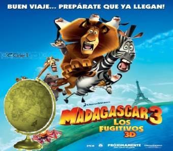 Mejor Film Animado del A�o-(Madagascar 3: Los Fugitivos)