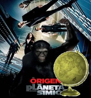 Mejor Pelicula de Ciencia Ficci�n de A�o-(El origen del planeta de los simios)