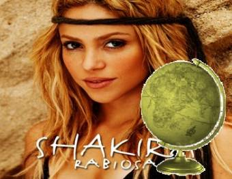 Mejor Solista Latina Femenina-(Shakira)