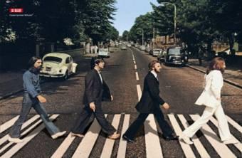 Esta es la imagen que representa a The Beatles en todo el mundo, imagen con mucho simbolismo detras.