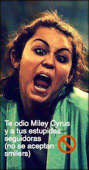 miley la copiona e engreida cyrus
